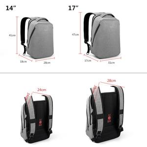 Image 5 - Tigernu causal repelente de água anti roubo homens 15.6 polegada mochilas portátil 24l mochila para meninos viagem negócios masculino