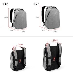 Image 5 - حقائب ظهر من tigerنو كاجوال مضادة للسرقة للرجال مقاس 15.6 بوصة حقيبة مدرسية 24 لتر للأولاد مناسبة للسفر والأعمال والرجال