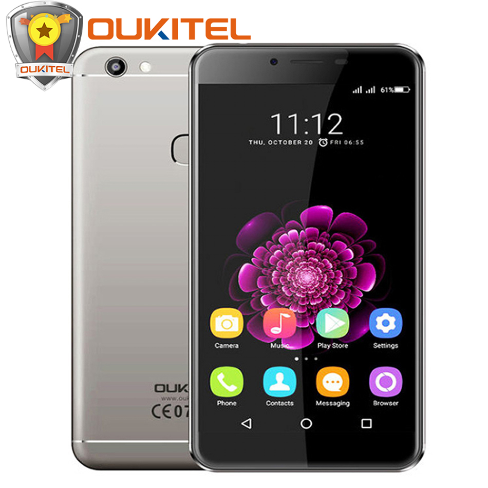 Oukitel U15S Mobile Phone 4G 32G MTK6750T Octa Core Cellphone Android 6 0 FingerPrint 13MP Camera