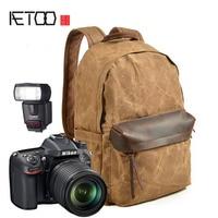 AETOO SLR camera bag shoulder photography backpack SLR canvas bag photography spot wholesale waterproof backpack