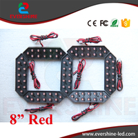 8 Red Color 7 Seven Segment LED Number Module Gas Price LED Display Signs Diesel Price