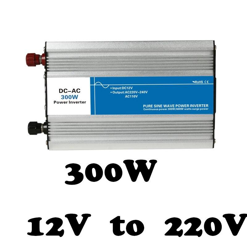 Onduleur à onde sinusoïdale pure 12 v à 220 v 300 w tronique circuits onduleur grille cravate onduleur hors réseau pas cher inversor AG300-12-220