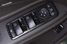 цена на Lapetus Door Armrest Window Glass Lift Button Panel Cover Trim For Mercedes Benz A / B / C / E Class W117 W204 W212 200 220 ABS