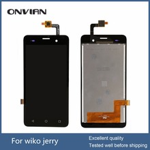 Tested well For Wiko jerry LCD Display + Touch Screen digitizer sensor Assembly, for wiko lenny 3 lcd display sensor