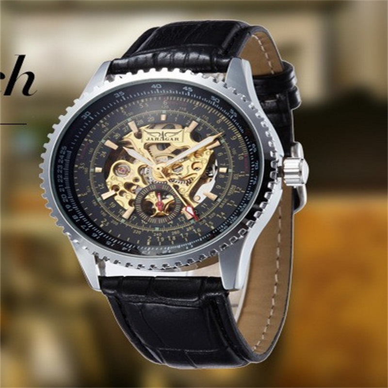 Hot New Fashion Men Wristwatches Clock Hot Gold Core Mechanical Watches For Both Men And Women Black White Free ShippingHot New Fashion Men Wristwatches Clock Hot Gold Core Mechanical Watches For Both Men And Women Black White Free Shipping