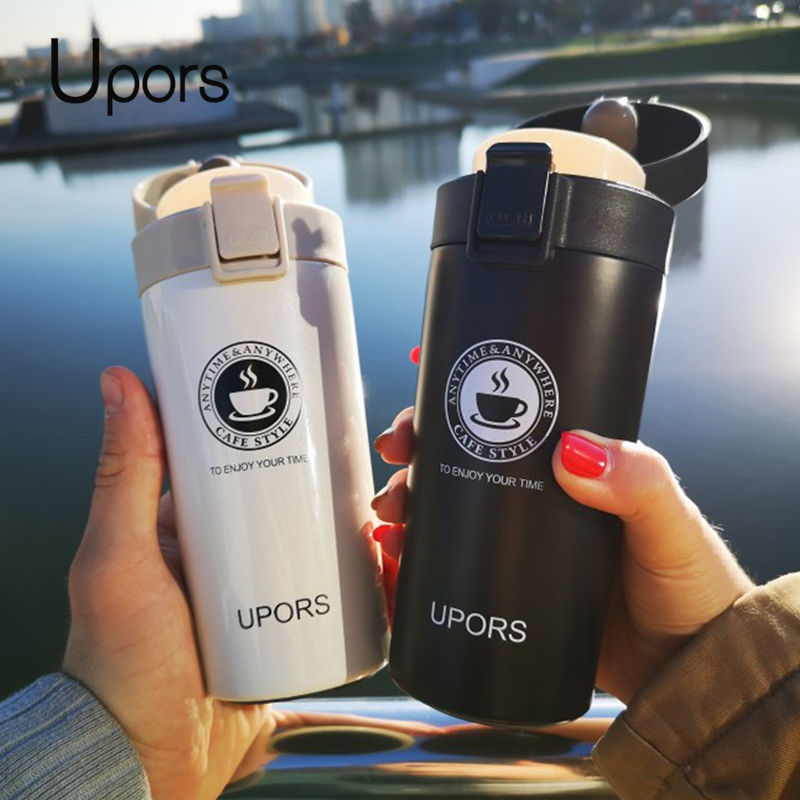 UPORS Premium Travel Coffee Mug Stainless Steel Thermos Tumbler Cups Vacuum Flask thermo Water Bottle Tea Innrech Market.com