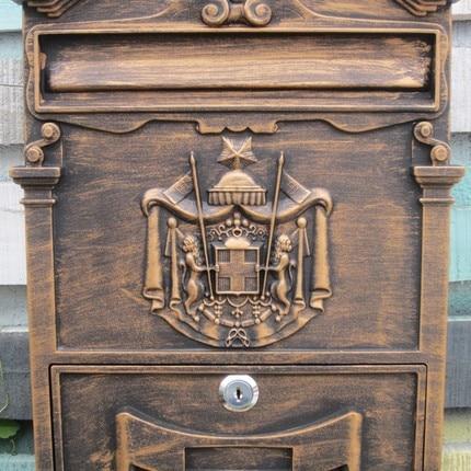 vintage mailbox promotion shop for promotional vintage mailbox on. Black Bedroom Furniture Sets. Home Design Ideas