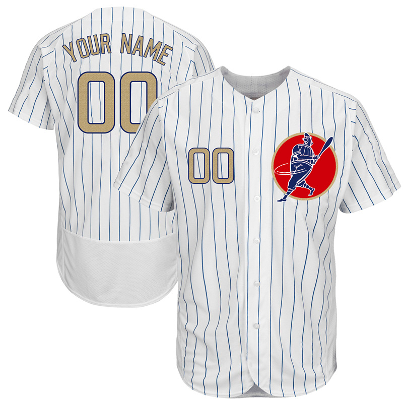 f22ddc1b3 Customized Chicago Baseball Jersey Embroidery Stitched Quality Personalized  Bryant Rizzo Baez Schwarber Maddon Ross Jersey-in Baseball Jerseys from  Sports ...