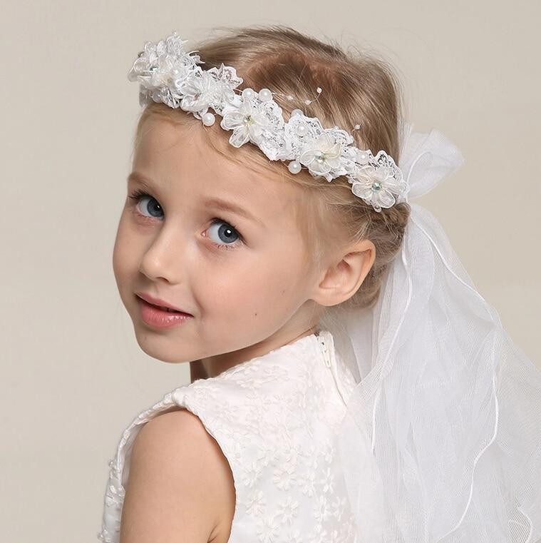 Baby Kids Flower Headband Wedding Girls Headwear Party H