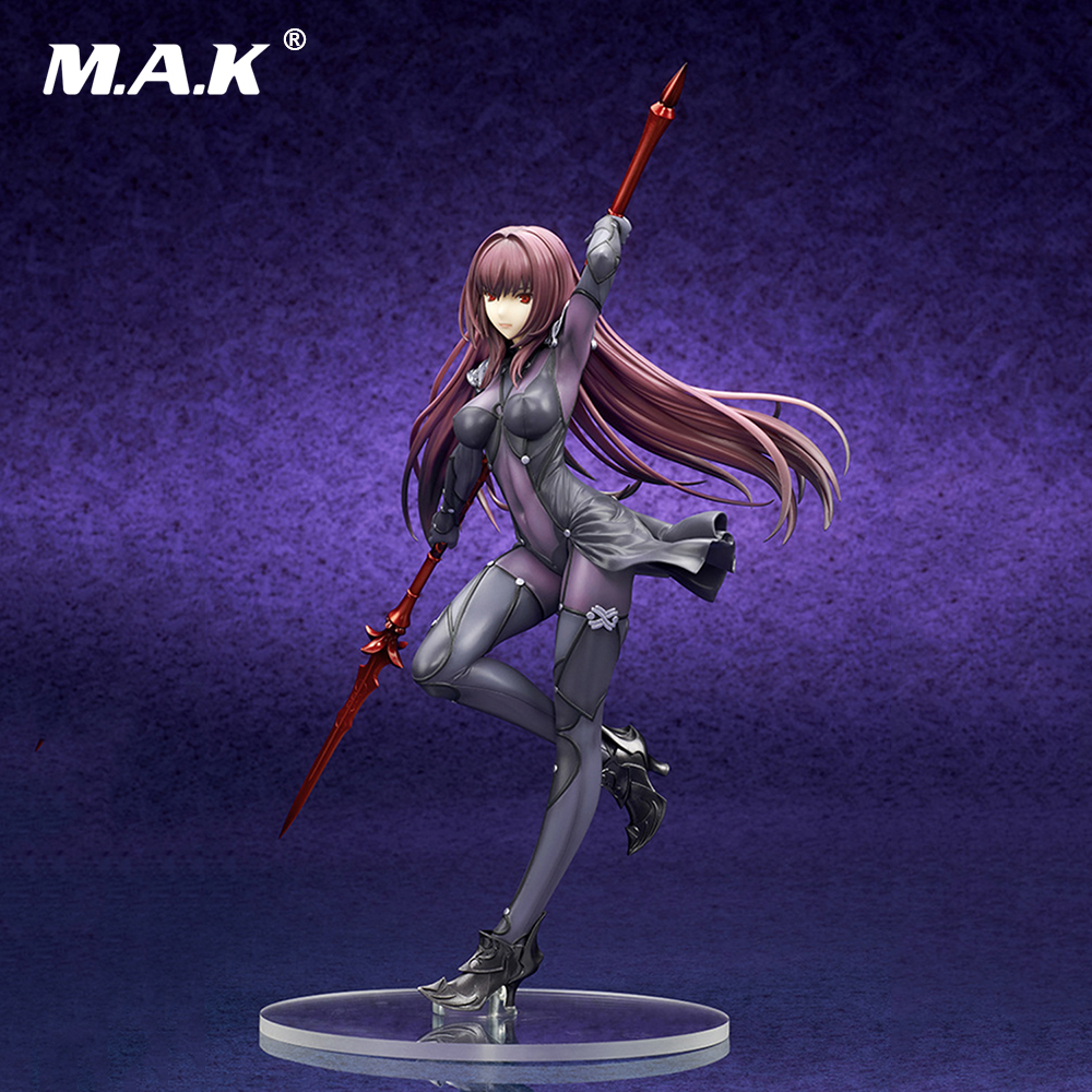 25CM Fate Stay Night Grand Order Lancer Anime Action Figure PVC figures toys Collection gifts with Box anime plum fate grand order lancer pvc action figure collectible model doll toy 31cm new hot