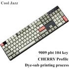 Cool Jazz 9009 Keycap for mechanical keyboard MX Switches Dye-Subbed Keycap 104 keys Cherry profile