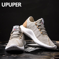 UPUPER Flying Weaving Men Sneakers Ultra Light Breathable Men Casual Shoes Large Size 39 46 Outdoor