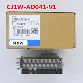 1 year warranty New original  In box   CJ1W-AD041-V1   CJ1W-AD04U