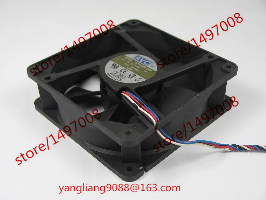 Free Shipping For AVC DD12038B12HP, 401 DC 12V 1.05A 4-wire 5-pin connector 110mm 120X120X38mm Server Square Cooling Fan dolphin starfish printed inflatable floating boat