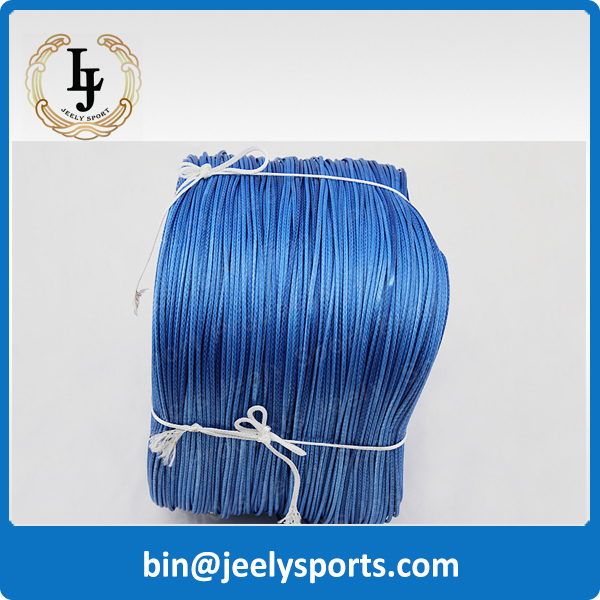 Free Shipping 1000M/Piece 600LB uhmwpe KITESURFING LINE 1.6mm 16 weave BRAIDED WIRE