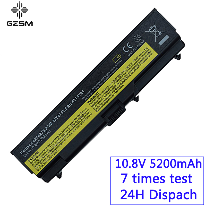 GZSM Laptop Battery T410 For Lenovo E40 E50 L410 L412 L420 L421 L510 Battery For Laptop L520 SL410 SL510 T420 T510 T520 W510