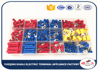 520pcs Assorted Insulated Crimp Terminals Electrical Wire Connector Spade Set connector terminals