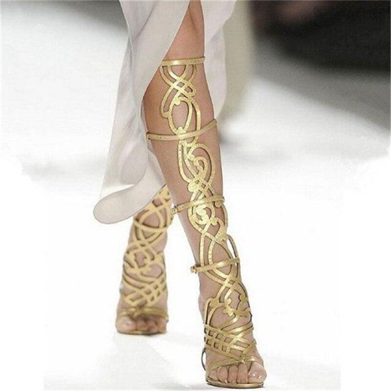 Online Get Cheap Gold High Heel Gladiator Sandals -Aliexpress.com ...