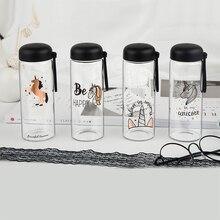 Creative Glass Unicorn Water Bottle