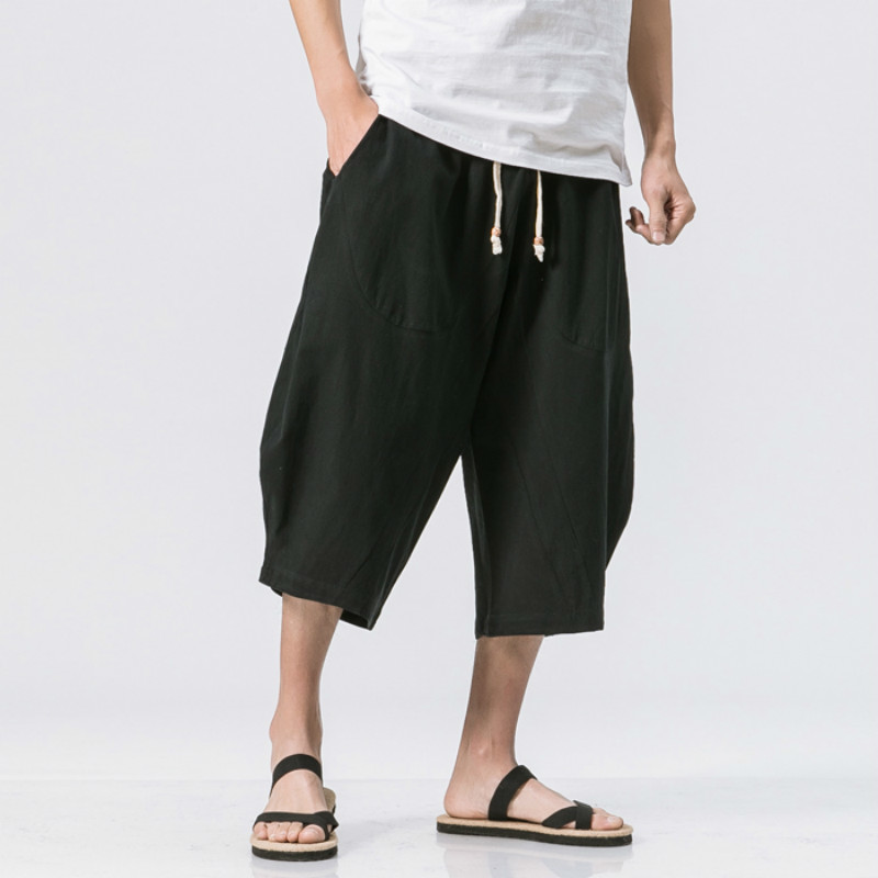 Flax Pants Easy Cotton And Linen In Spring Leisure Time Haren In National Customs Male Favourite Fashion Free shipping