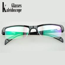 Женские и мужские очки с половинной оправой, очки для близорукости, смола, высокое качество, дешевые черные очки по рецепту-1,0-1,5-2, 5 очков для мужчин, минус линзы