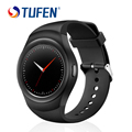 2017 Круглый Bluetooth Smart Watch Android Спортивные Smartwatch СИМ-Карты Сердце Rate Monitor для iphone IOS/Android телефон PK LEM3 AN1