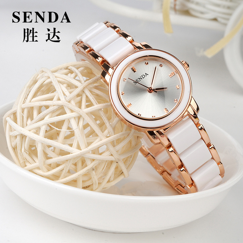 Hot Selling Watch Women SENDA brand luxury Fashion Casual quartz ceramic watch Lady relojes mujer women wristwatches Girl Dress relojes mujer 2016 fashion luxury brand quartz men women casual watch dress watches women rhinestone japanese style quartz watch