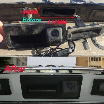 Trajectoire dynamique ligne de stationnement voiture arrière sauvegarde coffre poignée caméra pour VW Jetta Touareg Sharan Passat Golf Audi A3 A4 A6