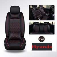 2019 (1 Set) Pu Leather Car Seat Cover Seat Cover Protection Auto Seat For Hyundai I30 Elantra Sonata Ix25 Tucson Ix35 Moinca