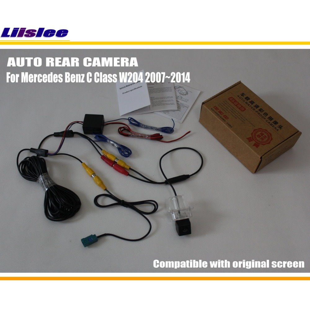Car Rear View Back Up Reverse Camera Sets For Mercedes Wiring Diagram C180 W204 Image Collections