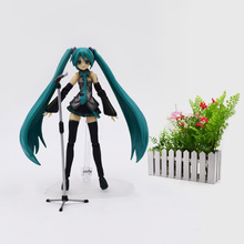 Anime Hatsune Miku Figma 014 Figure PVC Action Figure Collectible Model Christmas Gift Toys For Children
