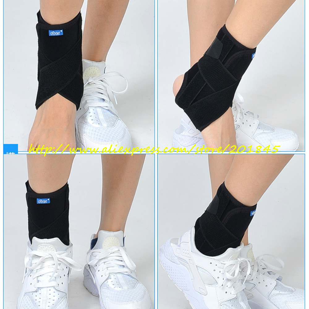 1pcs Ankle Support Brace Stirrup Sprain Stabilizer Guard Ankle Sprain Aluminum Splint adjustable knee joint support hinged splint wrap sprain orthosis post op brace sports knee pads fracture fixed rehabilitation