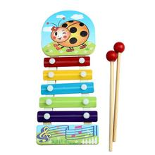 Niosung Baby Kid 2017 New Musical Toys Xylophone Wisdom Development Wooden Instrument Toy