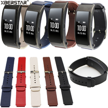 Watchband for Huawei Talkband B3 Watch Replacement Genuine Leather Wrist Strap