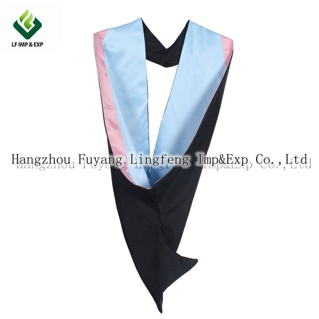 University Academic Bachelor Graduation Gown Hoods High Quality ...