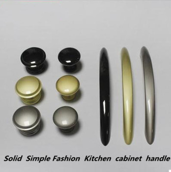 "128mm modern simple fashion pearl gold kitchen cabinet cupboard door handle pear black pearl nickel drawer shoe cabinet knob 5"""
