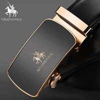 NO. ONEPAUL Top marque Designer ceinture homme vache pour hommes automatique boucle sangle mode taille mâle ceinture femme en cuir véritable ceinture