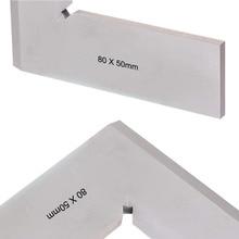 New 80*50mm Angle Square Broadside Knife-Shaped 90 Degree Angle Blade Ruler Gauge Blade Measuring Tool