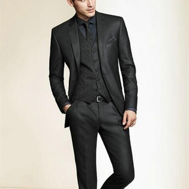 Black wedding suit for men | Mens Suits Tips