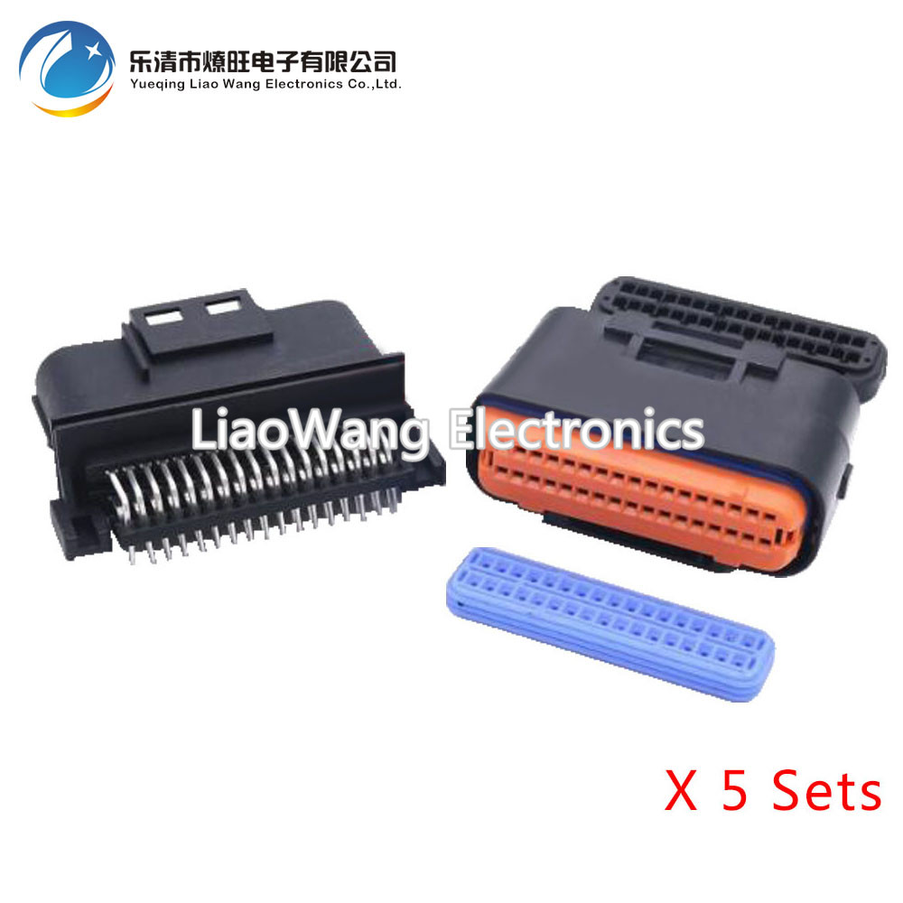 5 Sets 34 pin motorized car electronic control computer control system with terminal DJ7341A-1-10/21 34P
