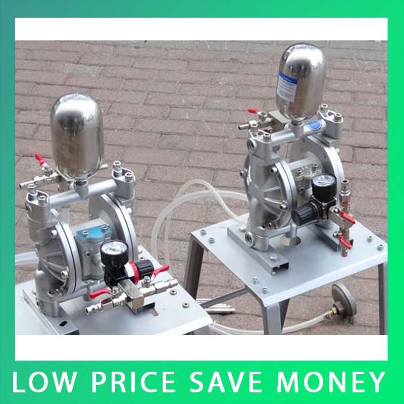 Aluminum alloy Mini High Pressure Ink Diaphragm Pump /Two-Way Pneumatic Diaphragm Pumps original ingersoll rand model 666120 344 c aluminum alloy aro pneumatic diaphragm pump
