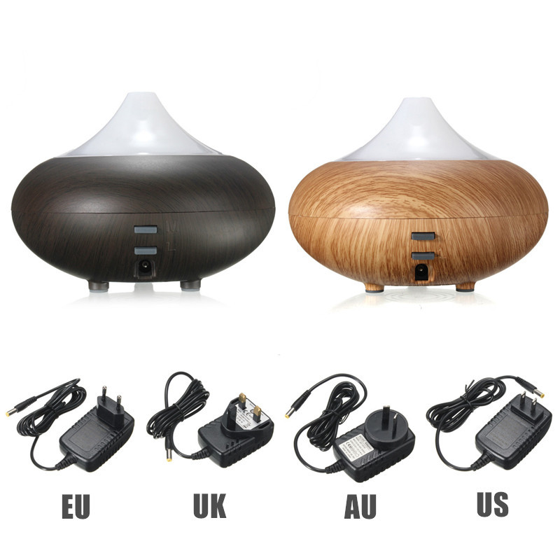 New Arrival High Quality 100ML Wood Grain LED Ultrasonic Aroma Diffuser Air Humidifier Purifier Essential Oil Aromatherapy