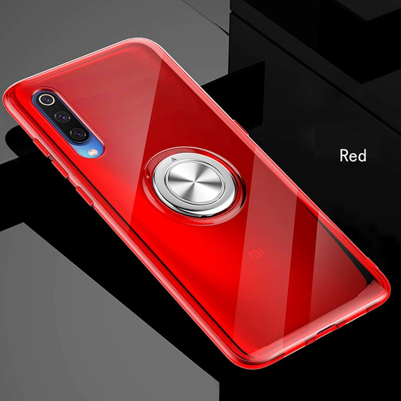 Image 5 - 360 Metal Finger Ring Magnet Case For Xiaomi 8 9 mi8lite mi9lite mi8discovery Clear Soft Silicon Cover For Xiaomi Redmi Note 7-in Fitted Cases from Cellphones & Telecommunications