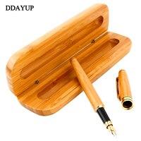 วินเทจน้ำพุปากกาหมึก1.0มิลลิเมตรที่มีกล่องตกแต่งสำหรับของขวัญธุรกิจสำนักงานการเขียนปากก...