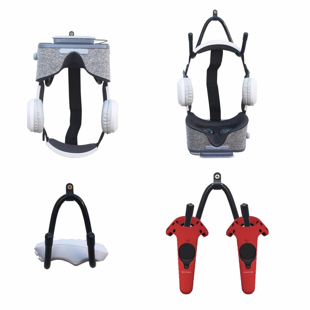 VR Headset Stand Headset Rack VIVI Controller Organizer - Set Of 4. No Headset ,No Controller