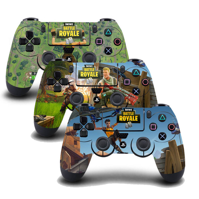 3PCS/Set PS4 Controller Skin Sticker Fortnite