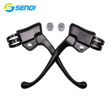 A Pair Bicycle V Brake Lever For Mountain Bike Aluminum Alloy road brake Handle  SCS037
