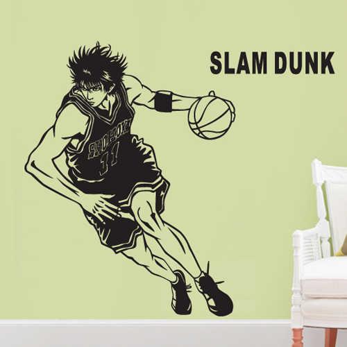 Slamdunk Rukawa maple аниме настенные наклейки для мальчиков интерьер комнаты движение
