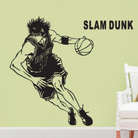 slamdunk Rukawa maple anime wall stickers Boys dormitory room interior movement of the head of a bed bedroom adornment