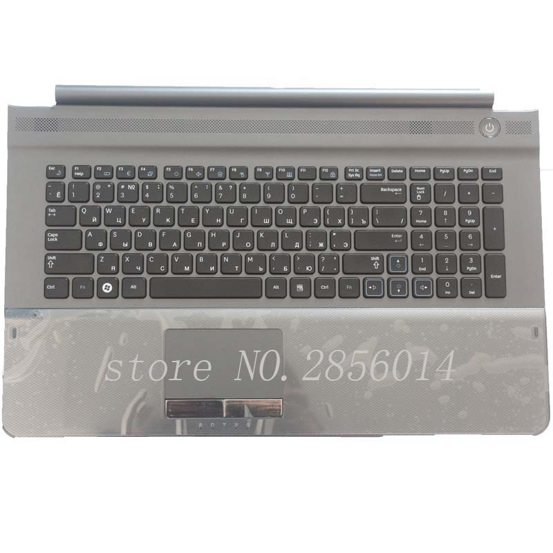New Keyboard for SAMSUNG NPRC710 NPRC711 NPRC720 RU laptop keyboard with C shell